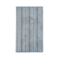 Sanderson Brecon Stripe Towel Blue Guest Towel