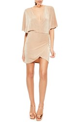 Missguided Women's Plunge Wrap Front Dress