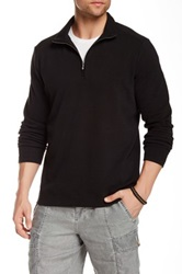 Tommy Bahama New Eversuede Half Zip Pullover Black