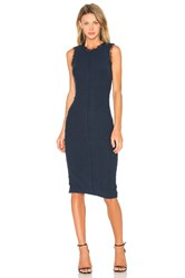 Rebecca Taylor Sleeveless Boucle Shift Dress Blue