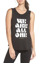 Spiritual Gangster Gangsters All One Muscle Tank Vintage Black