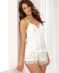 Flora By Flora Nikrooz Diva Camisole And Shorts Ivory