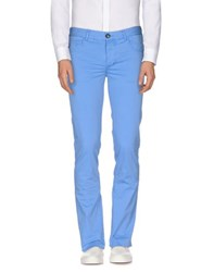 Fred Mello Trousers Casual Trousers Men Azure