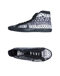 Insideout High Top Sneakers Black