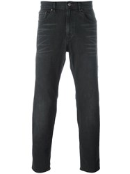 Michael Kors Stretch Slim Fit Jeans Black