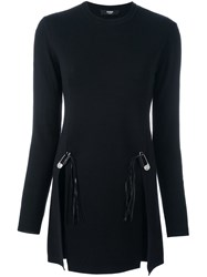 Versus Bobby Pin Jumper Black