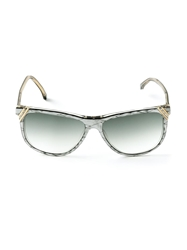 Gianni Versace Vintage Square Frame Sunglasses Grey