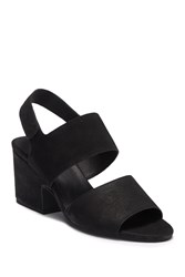 Eileen Fisher Finn Ii Block Heel Sandal Black