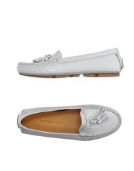 Alberto Moretti Footwear Moccasins Women Light Grey