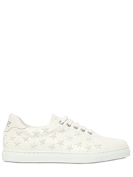Red Valentino Star Studded Leather Sneakers White
