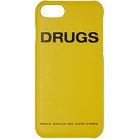 Raf Simons Yellow 'Drugs' Iphone 7 Case
