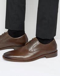 Kurt Geiger London Zac Leather Derby Shoes Brown