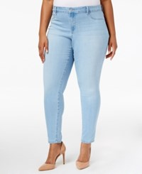 Jessica Simpson Trendy Plus Size Palace Wash Super Skinny Jeans