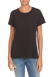 Frame Women's Cotton Tee Shirt Noir