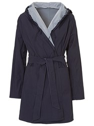 Betty Barclay Reversible Hooded Mac Dark Navy