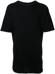 Monkey Time Crew Neck T Shirt Men Cotton S Black