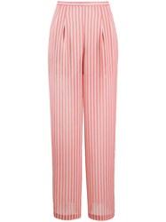Semicouture High Rise Striped Trousers 60