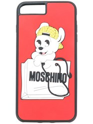 Moschino Pudge Iphone 7S Case Pvc Red
