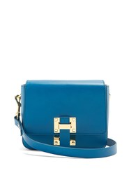 Sophie Hulme Small Quick Cross Body Bag Blue