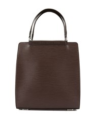 Louis Vuitton Vintage Figari Pm Hand Tote Bag Brown