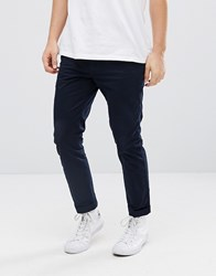 Dr. Denim Dr Diggler Slim Tapered Chino With Turn Up Navy