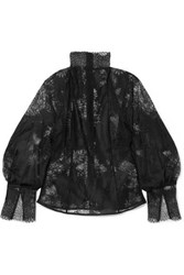 Beaufille Levine Lace Blouse Black