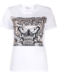 Red Valentino Butterfly Detail T Shirt 60