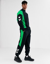 Hummel Claus Track Pants Green