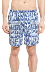 Patagonia Men's Baggies Longs Swim Trunks Superior Blue