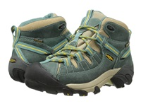 Keen Targhee Ii Mid Mineral Blue Ceylon Yellow Women's Hiking Boots Green
