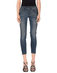 Twenty Easy By Kaos Denim Denim Trousers Women Blue