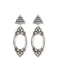 Lulu Frost Lillet Statement Earrings Silver