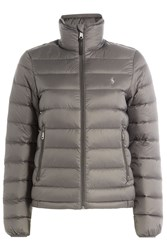 Polo Ralph Lauren Quilted Down Jacket Grey