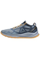 Reebok All Terrain Freedom Trail Running Shoes Stonewash Cable Grey Fire Spark