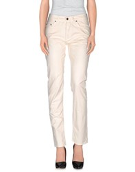 Jaggy Trousers Casual Trousers Women Ivory
