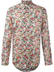 Paul Smith Floral Print Shirt Multicolour