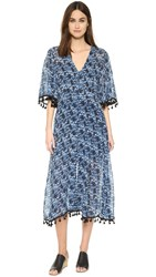 Shakuhachi Stevie Button Up Dress Navy