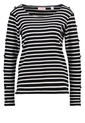 Scotch And Soda Breton Long Sleeved Top Combo Black