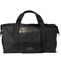Mulberry Henry Leather Trimmed Nylon Bag Black