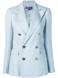 Ralph Lauren Collection Double Breasted Blazer Blue
