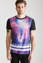 Forever 21 Galaxy Print Tee