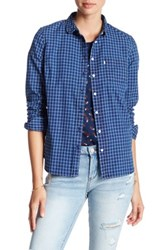 Levi's Modern Pocket Blouse Blue