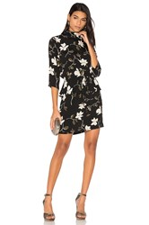 Ganni Rosemont Dress Black