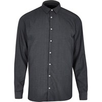 Vito River Island Mens Grey Grey Shirt