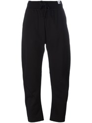 Adidas Drawstring Tapered Trousers Black