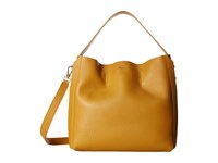 Furla Capriccio Medium Hobo Zafferano Hobo Handbags Yellow