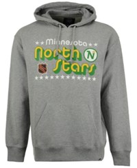 47 Brand '47 Men's Minnesota North Stars Expansion Strike Pullover Hoodie Gray