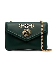 Gucci Green Tiger Leather Cross