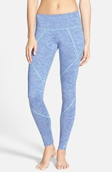 Junior Women's Bp. Melange Active Leggings Blue Marine