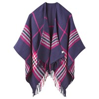 Joules Innis Check Cape Purple